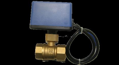 Motorized valves