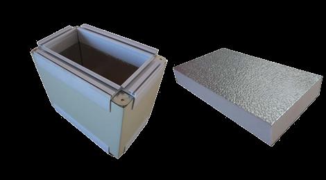 Phenolics duct panel
